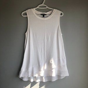 Banana Republic white tank top